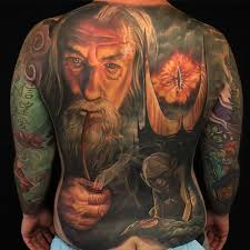 the lord of the rings tattoos all things