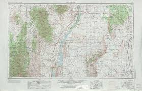 Topographic Map Of Colorado by Tularosa Topographic Maps Nm Usgs Topo Quad 33106a1 At 1