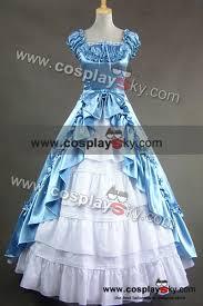 renaissance gothic wedding dress ball gown prom cosplaysky com