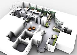 3d floor plan perspective 2012 project office universi u2026 flickr