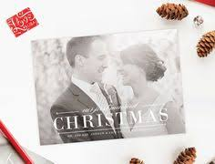 Newlywed Cards Newlywed Christmas Cards Just Married Photo Holiday Cards