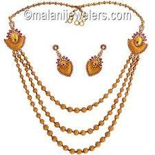 long gold necklace sets images New arrivals online 22 karat gold collections jpg