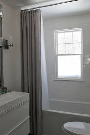 Bathroom Window Curtain Ideas by Extra Long Shower Curtain Curtains Modern Bathroom Window Prime