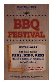 20 free barbeque flyer templates demplates