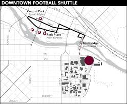 University Of Montana Map by Football Shuttles Office Of Transportation University Of Montana