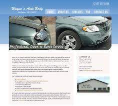 auto u0026 marine repair web design examples sytek