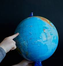 Color Of Earth by Free Images Travel Finger Color Child Blue Toy Map Circle