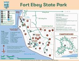 Washington State Parks Map by Fort Ebey State Park Maplets