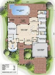 floor plans florida key west charm 66160gw architectural designs house plans