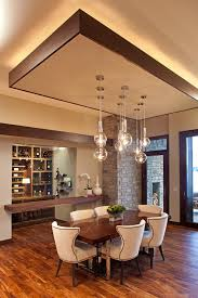 Drop Ceiling Lighting Drop Ceiling Lighting Dining Room Modern With Floor To Windows