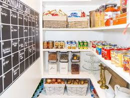 how to reorganize your pantry to eat better