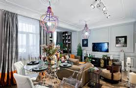 Modern Interior Design In Eclectic Style With Parisian Chic - Modern interior design style