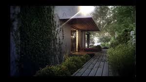 caesarea villa architecture visualization youtube