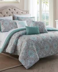 Gray And Turquoise Bedding Designer Comforters U0026 Comforter Sets Stein Mart