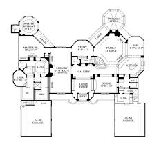 5 Level Split Floor Plans One Story Ranch Style House Plans Traditional House Plan First