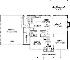 kitchen bedroom house floor plans with garage room plan ranch open