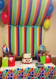 interior design creative 1st birthday decoration themes home