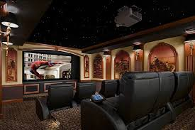Home Movie Theater Decor Ideas by