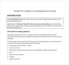 strategic plan format template sample strategic plan templates 10