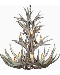 Antler Chandelier Canada Spectacular Deal On Canadian Antler Designs Rmdca 9 Light 26 Wide