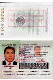 template mexico passport psd passport psd pinterest nepal