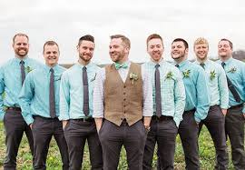 groomsmen attire tuck the tux away casual groom styles are in casual groomsmen