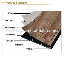 good price 5mm thick loose lay pvc flooring 0 5mm wear layer vinyl