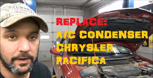 a c condenser remove u0026 replace chrysler pacifica youtube