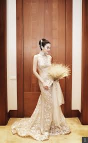wedding dress jakarta cheongsam wedding dress with dewi and harvey moeis