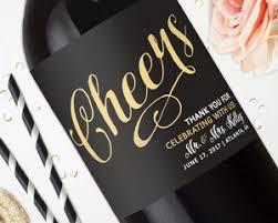 labels for wedding favors wedding wine labels wedding favors studio b labels