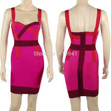 wholesale celebrity boutique halter bandage bodycon dress wear