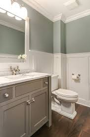 Green And White Bathroom Ideas Best 25 Wainscoting In Bathroom Ideas On Pinterest Wainscoting