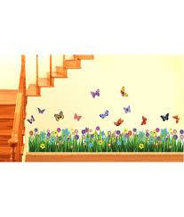 flower garden games online stickerskart walking in the garden flower border design wall decor