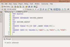 how to view table in sql sql server public diary how to create password protected backup of