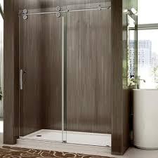 Canada Shower Door Valley Shower Door Rolling Door And A Single Fixed Panel