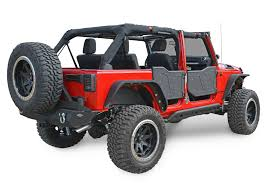 jeep jku half doors dv8 offroad rdsttb 01 plated rock doors for 07 17 jeep wrangler
