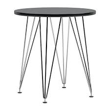 mid century bistro table mod made mid century modern paris tower round table bistro table