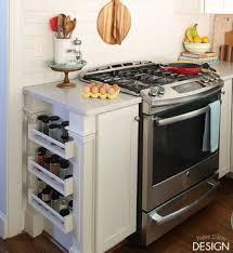 ikea kitchen organization ideas easy built in spice rack bekvam ikea hack hometalk