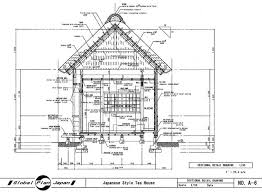 japanese style home plans japanese tea house plans designs escortsea