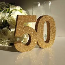 gold 50th birthday party decoration 50th anniversary decoration