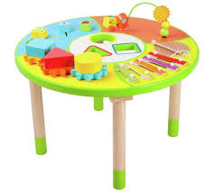 wooden activity table for buy chad valley wooden activity table at argos co uk your online