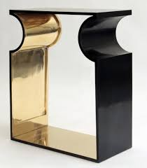 Black Console Table Black Modern Console Tables