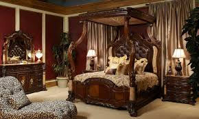 Canopy Bedroom Sets by Michael Amini Victoria Palace Bedroom Set Luxurious Large Canopy