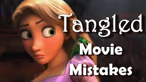 disney tangled movie mistakes didn u0027t notice