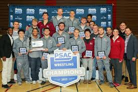 Psac Standings by Behind Five Individual Champions Lock Haven Rolls To Psac Title