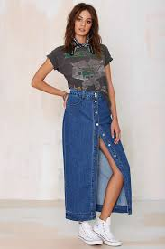 denim maxi skirt we re all of the same mind here that this denim maxi is a seasonless