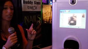 tatz nails photo booth and finger nail printer by john young of