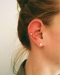 pierced ears without earrings wearing earrings choosing your combinations almost