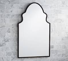 Antique Bronze Bathroom Mirrors Bathroom Mirrors Pottery Barn