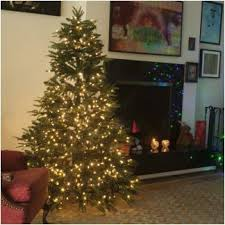 white pre lit christmas tree with colored lights 9 best dual color string lights trees and wreaths images on